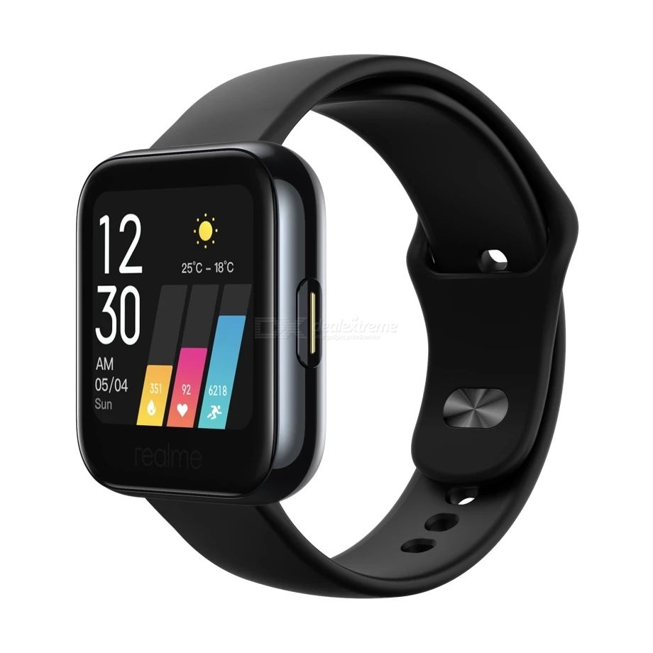 Realme Smart Watch IP68 Sports Smartwatch 1.4 Inch Touch Screen Device Heart Rate Blood Oxygen Monitoring Fashion Watch