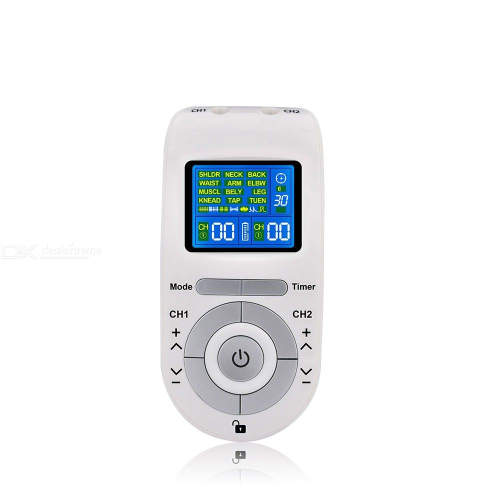 Tens Machine Massager EMS Electronic Pulse Massager Electrical Nerve Muscle Stimulator Acupuncture Low Frequency Physiotherapy