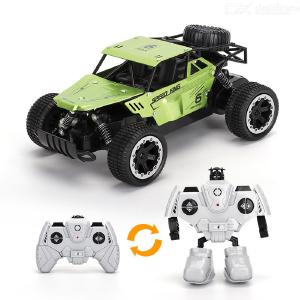 LR-3009 1/18 RC Car 2.4G Remote Control Wear-resistant Fall-resistant Suspension Shock Absorbers With Rubber Vacuum Tires