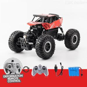 DM-3002 1/16 RC Car 2.4G Remote Control Shock Absorbers Alloy Body Powerful Motor Rubber Tires