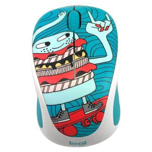 Logitech Wireless Optical Gaming Mouse, 1000DPI Optical Mouse For Desktop And Laptop, M238-V3, Cartoon
