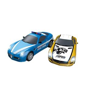 Electronic Double Remote Control Car Racing Track Toy Autorama Professional Circuit Voiture Electric Railway Slot Race Car