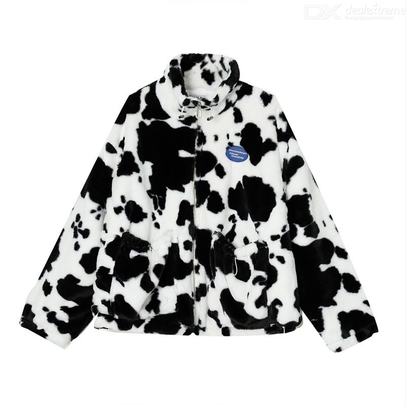 2020 Autumn And Winter New Products Korean Version Loose Hong Kong Flavor Stand-up Collar Cow Cotton Zipper Jacket Men