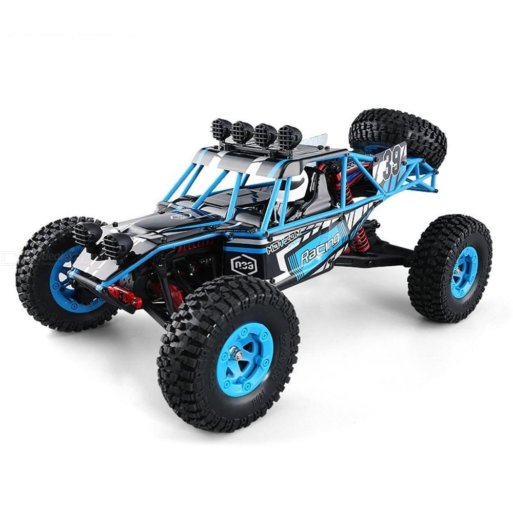 JJRC Childrens Educational Sand Remote Control Toy Car 1:12 Four-wheel Drive 2.4g High-speed Car Desert Off-road Climbi