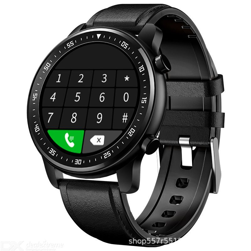 MT1 Intelligent Calling Watch Smart Bluetooth Watch 1.28 Inch Round Dial Smartwatch Casual Sport Watch 14 Days Battery Life