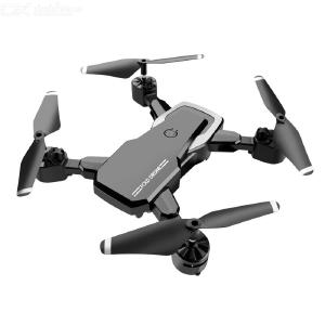 Foldable Mini Drone Portable 3 Speeds 360-degree Roll 2.4G Remote Control With Optical Flow Locator