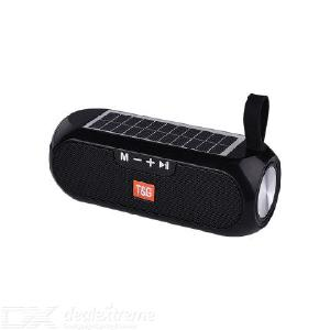 TG TG182 Bluetooth Speaker Portable Wireless Stereo Solar Charging Waterproof Support TF Card
