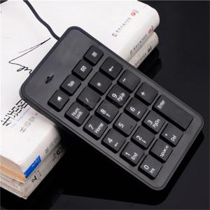 Wired Numeric Keyboard Mini Number Keyboard For Accountant Supermarket Financial Accounting 23 Keys Plug And Play