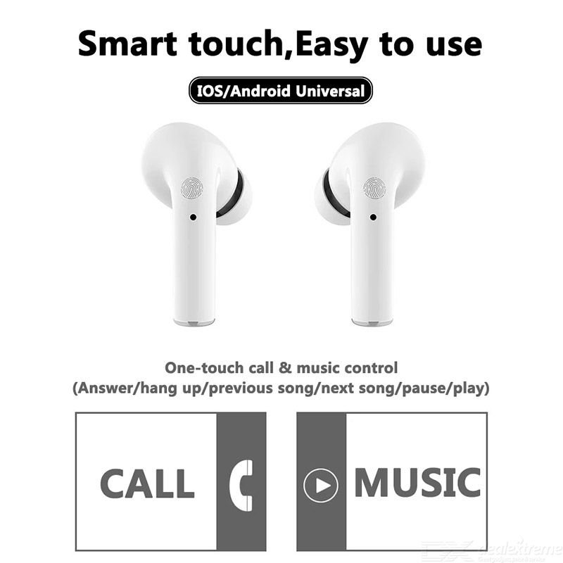 Pro I11 Bluetooth Earphone Wireless TWS Touch Control Bluetooth 5.0 Noise Reduction