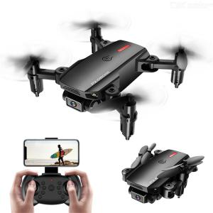Mini Drone Foldable Portable 360-degree Rotation 4 Channel 2.4G Remote Control With LED Light