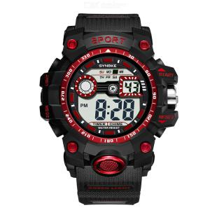 SYNOKE 9006 Multi-function Sport Watch Digital Wristwatch Casual Waterproof Watch With Luminous Indication