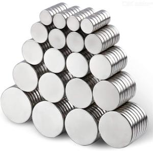150pcs Round powerful magnet combination for Office, Hobbies, Crafts and Science, Round Ceramic Industrial Ferrite Magnets, Push