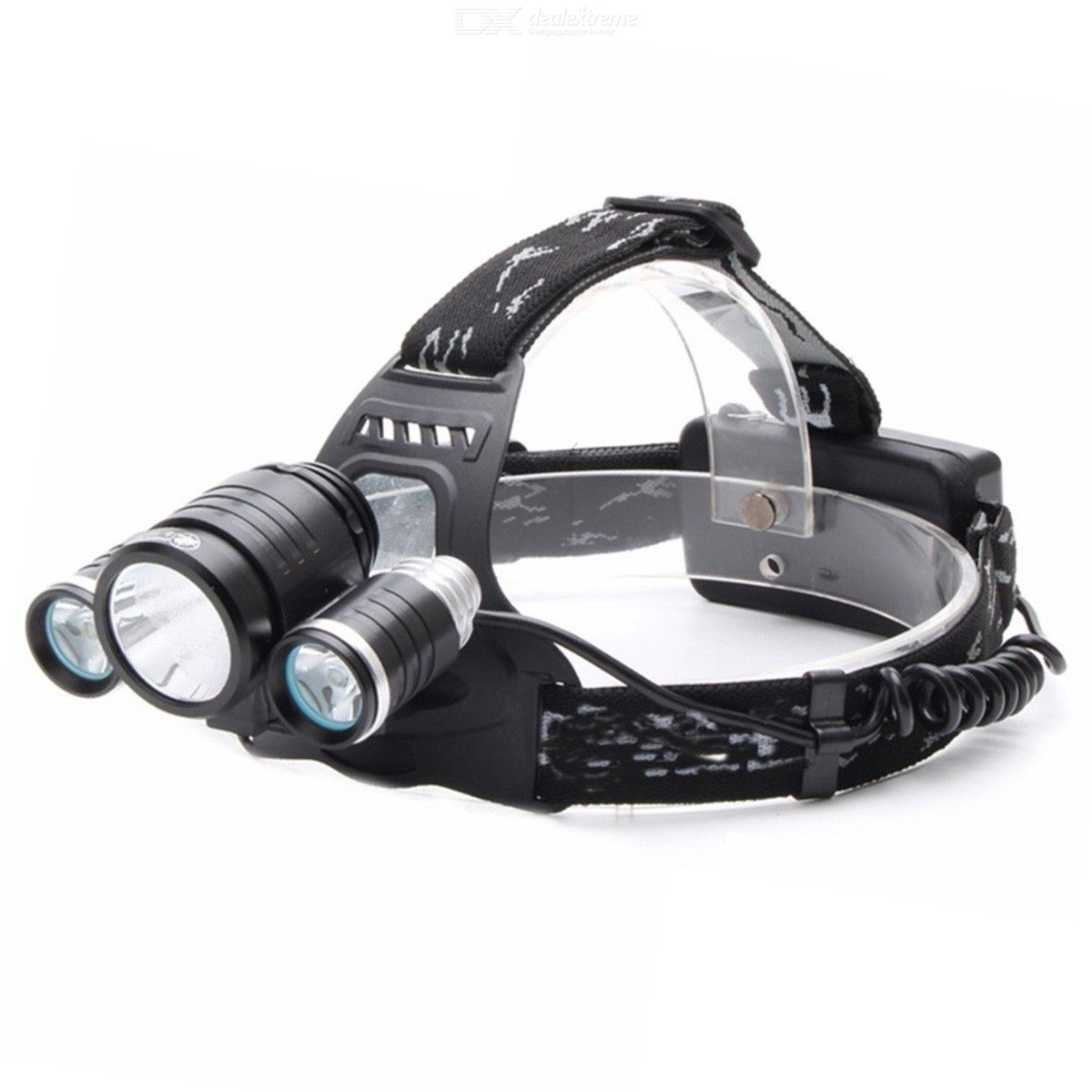 3 Led Headlamp XM-L T6 Headlight light Lantern head Lamp Flashlight Rechargeable 18650 battery hunting fishing lighting