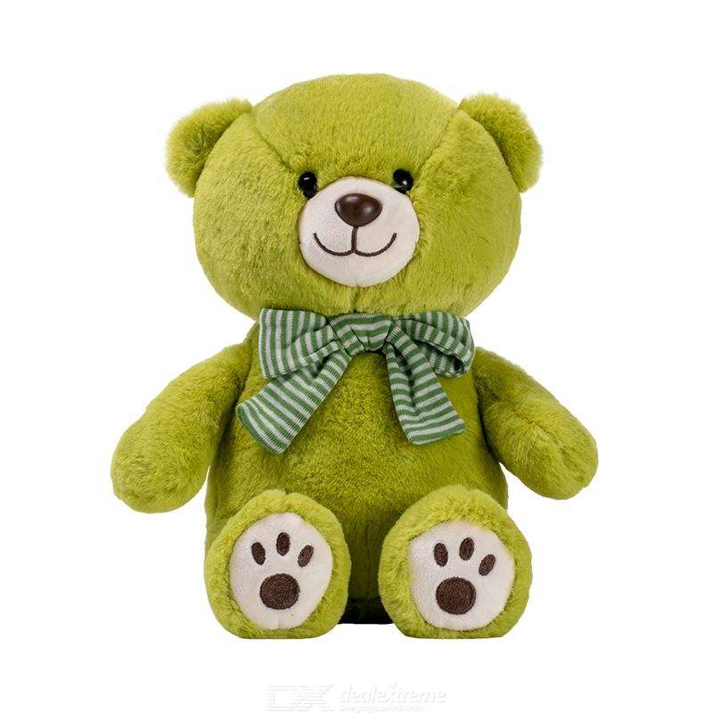 Plush Bear Toys Cute Scarf Bow-knot Bear Toys Stuffed Animals Pillow Birthday Gifts For Children