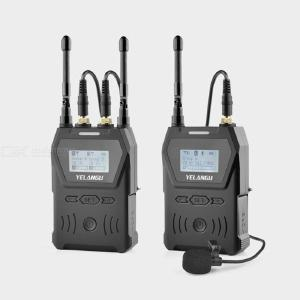 Professional UHF Wireless Microphone Camera Phone Lapel Lavalier Vlog Wireless Microphone for Mobile Camera Shooting Vlogs