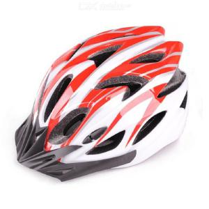 WX-016 Bicycle Helmet 21-hole Design Air Duct Design One-piece PP Material Regulator Built-in Double-sided Velvet Lining Strip