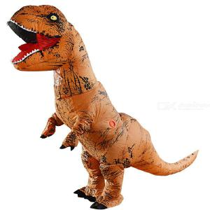 Inflatable Dinosaur Costume Inflatable Suit Halloween Cosplay Costume Fancy Dinosaur Suit