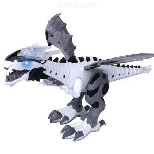Mechanical Mist Spraying Dinosaur Electric Simulation Walking Animal Toy Multi-function RC Dinosaur Robot Dinosaur Toy