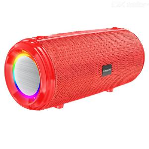 Borofone BR13 Wireless Bluetooth Subwoofer Portable Sport Speaker With Cool Lights Fashion Calling Music Speaker