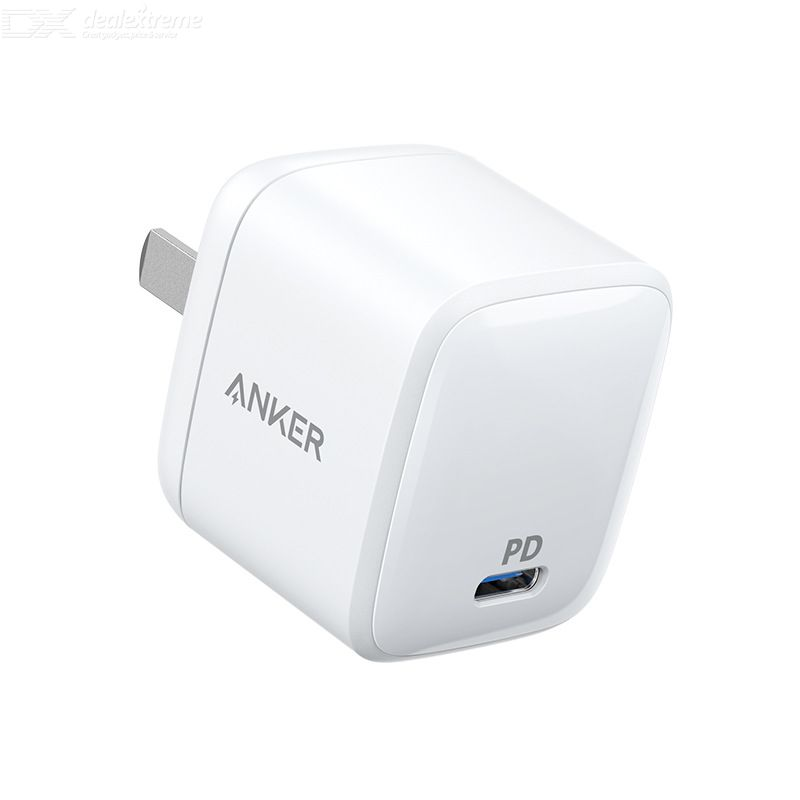 Anker Wall Charger 30W Mini Portable PD Fast Charging Single Port With PD Cable