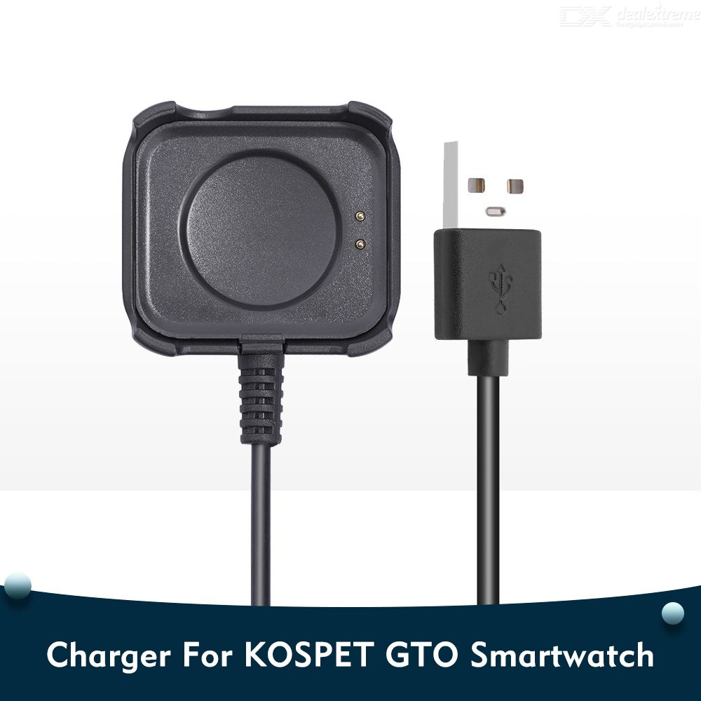 USB Charging Cable For KOSPET GTO Smart Watch Charger Charging Stand Smartwatch Accessories For KOSPET GTO
