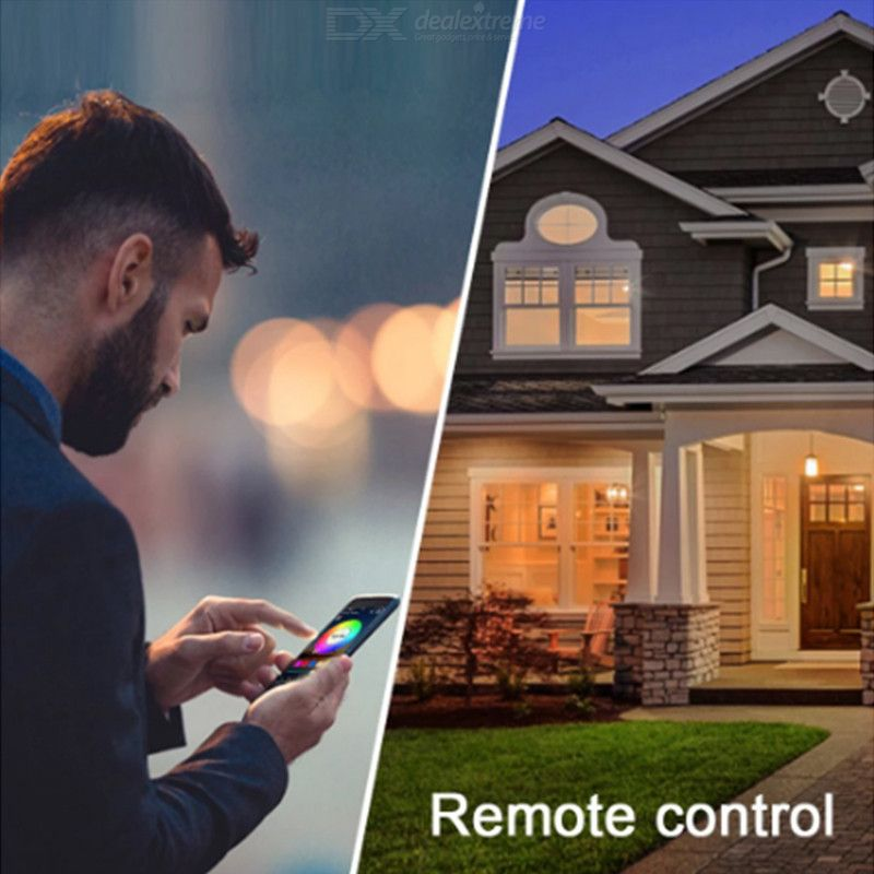 Wifi RGBW LED controller smart phone control music and timer mode home mini wifi LED RGBW controller