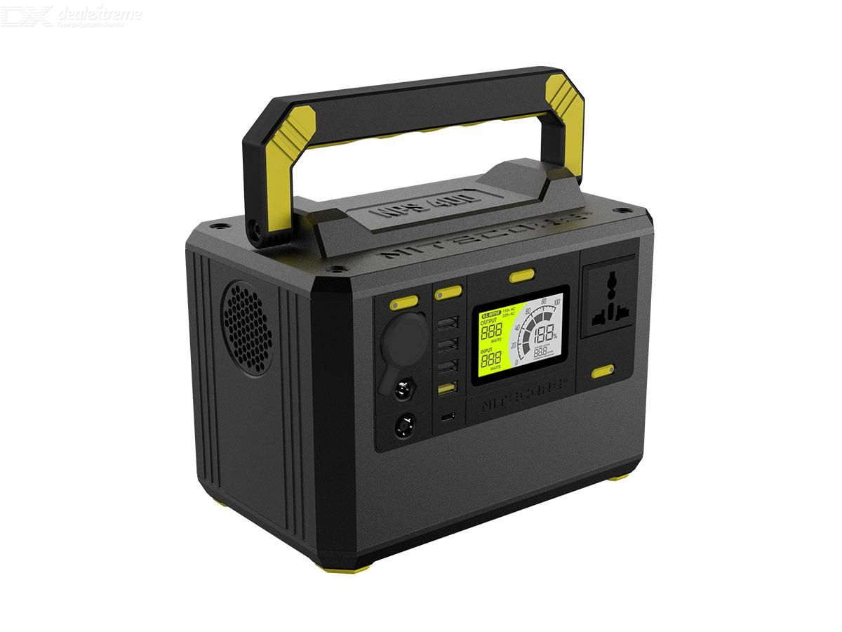 NITECORE NPS400 portable outdoor power station 220V 300W 117000MAH