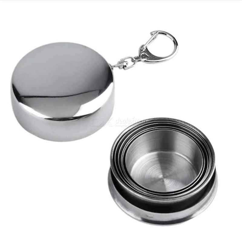 Stainless Steel Outdoor Telescopic Folding Cup Sport Cup