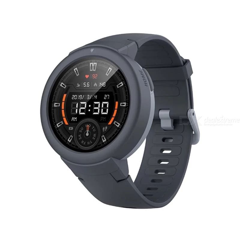Amazfit Verge Lite Smart Watch GPS Outdoor Sports Watch AMOLED Display Running Pessometer Sleeping Recorder 20-Day Battery Life