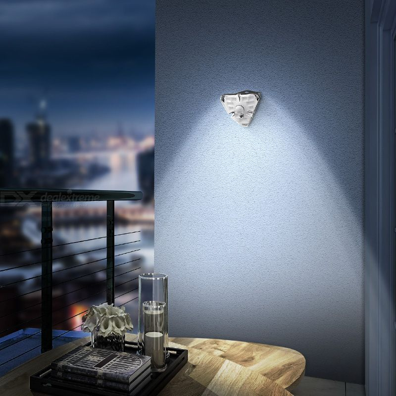 BASEUS Solar Human Body Induction Wall Light Waterproof 40 LED Lamp Beads Built-in Reflector Cup