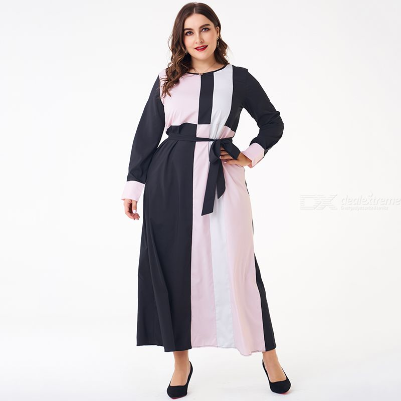 Woman Loose Inelasticity Joint Sweety Dress