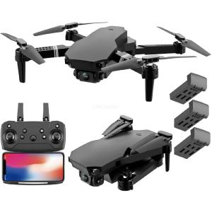 S70 Pro 4K Dual HD Camera 3 Batteries Drone Foldable WIFI FPV  Real-time Transmission Drop Resistance 2.4G Remote Control