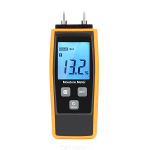 RZ Wood Moisture humidity Meter Digital Tester Wood Moisture Concrete 080 Two Pins Large LCD Display with Back light RZ660
