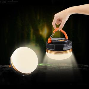 ZHISHUNJIA 3000 LM LED T6 Multifunctional camping lamp USB rechargeable camp light