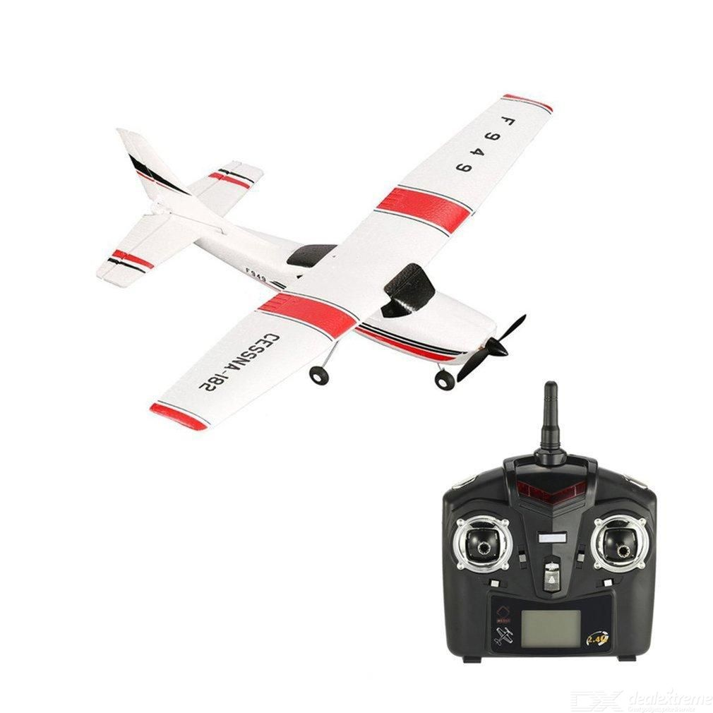 WLtoys RC Airplane 3 Channel Remote Control Airplane For Kids Children Single Electric Version