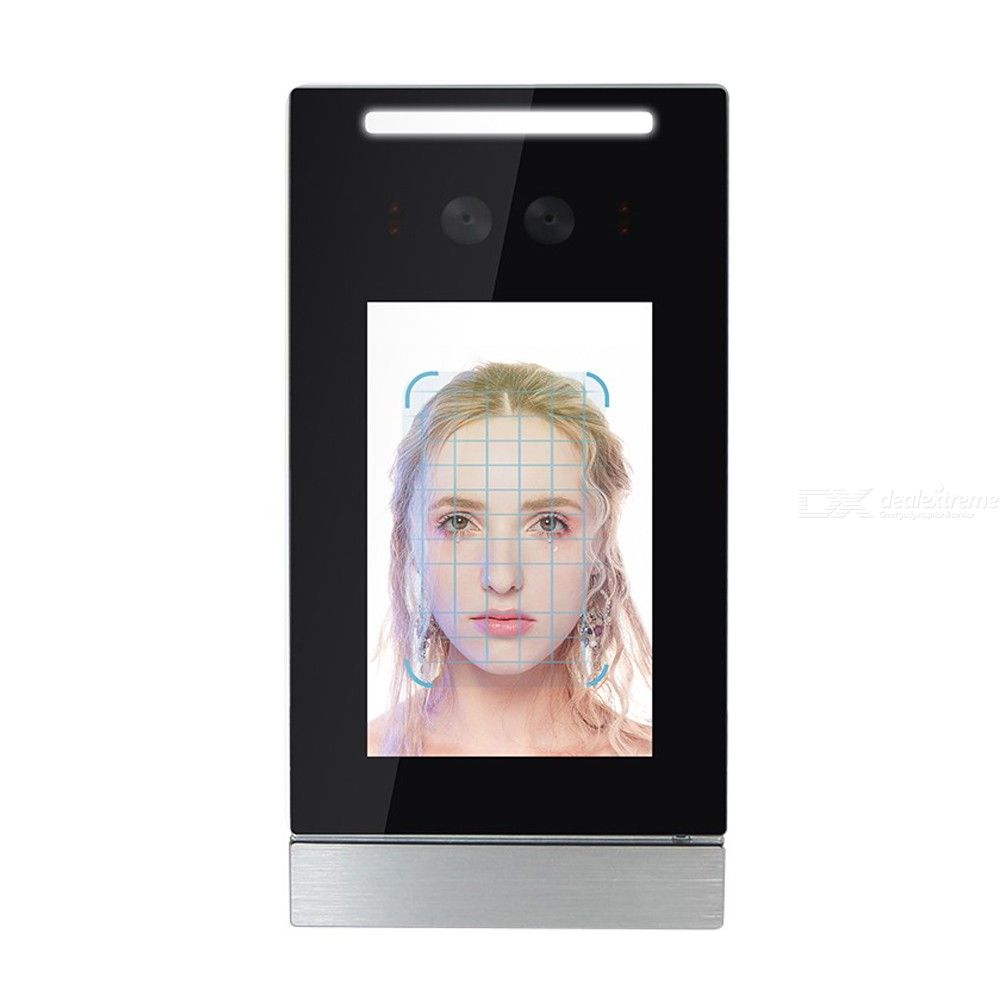 1080p 210W pixel 5-inch face access control machine (Linux operating system) 10000 faces 60000 recognition records