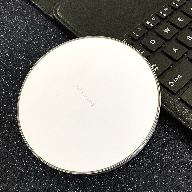 QI Wireless Charger 10W Fast Charging Mobile Phone Charger Portable Travel Wireless Charger