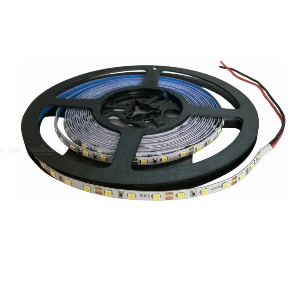 ZHAOYAO Highlighted 5mm 60W DC 12V Not waterproof 2835SMD 5M 300LEDs White LED strip lights