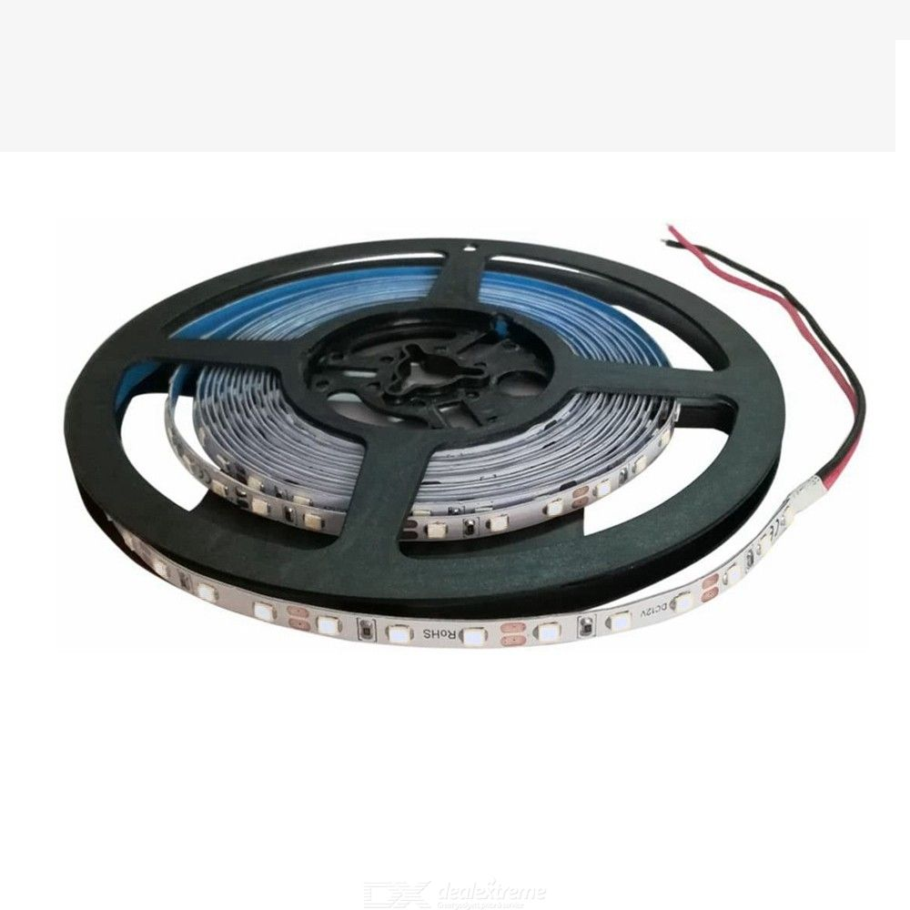 ZHAOYAO Highlighted 5mm 60W DC 12V Not waterproof 2835SMD 5M 300LEDs Blue LED strip lights