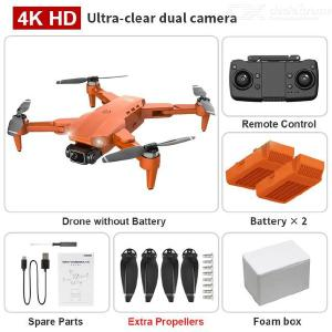 L900 Foldable Drone Portable GPS 4K HD Camera 5G Image Transmission With LED Light (Foam Box Packaging Multi-electric Version)