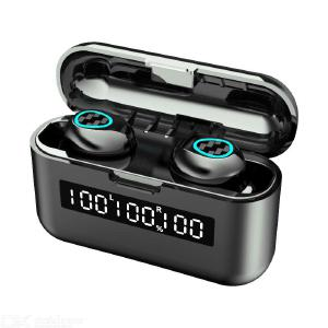 R9 Bluetooth Earphone Wireless TWS Touch Control Noise Reduction Waterproof With Digital Power Display