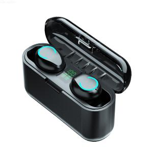 F9-13B Bluetooth Earphone Wireless TWS Touch Control Noise Reduction Waterproof With Digital Power Display