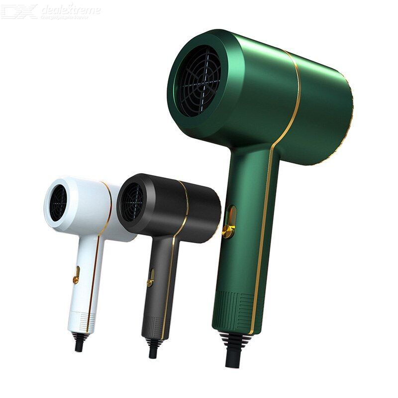 Hair Dryers Three Gear Wind Low Noise Mesh Air Inlet 360-ddgree Set Wind Mouth