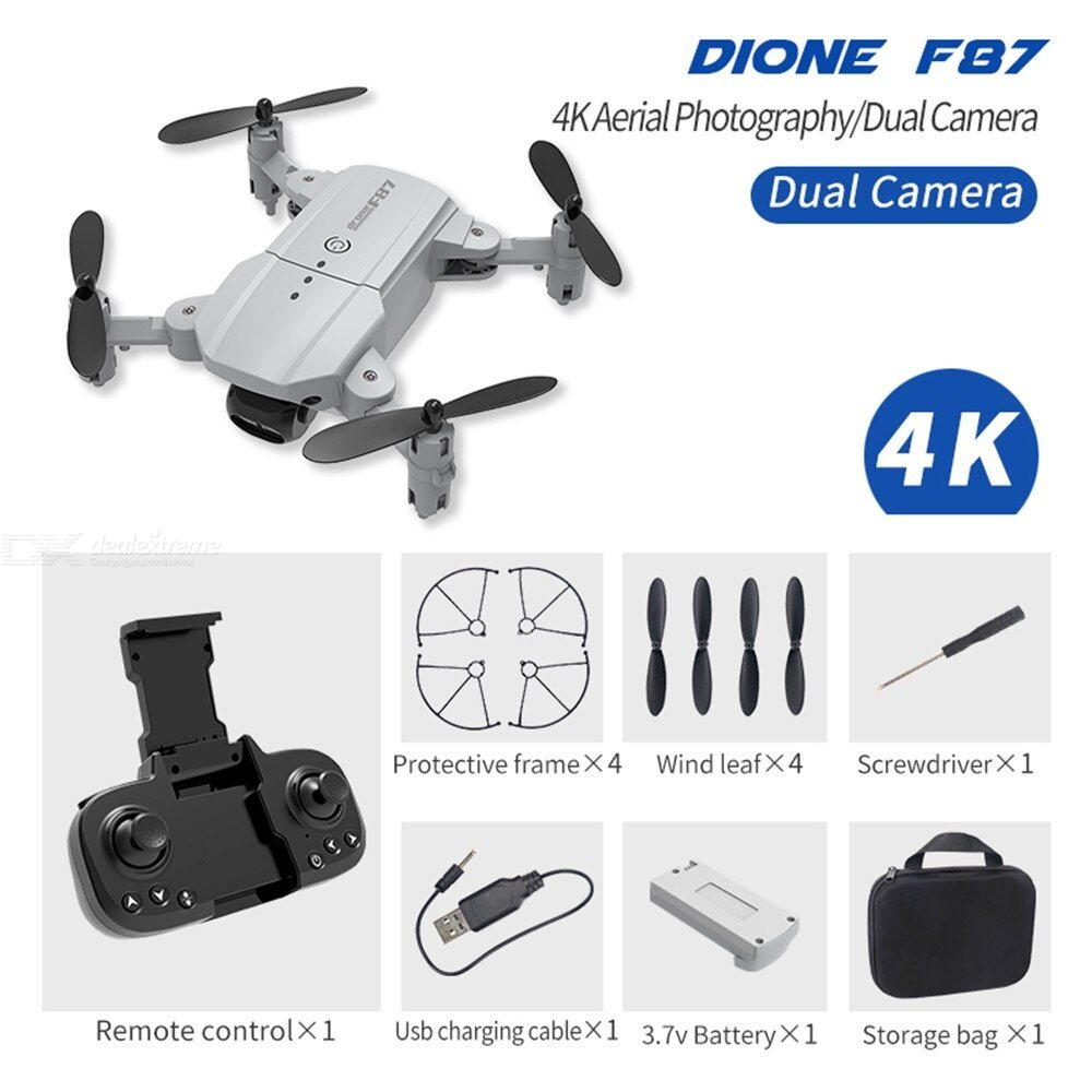 F87 FPV Drone Quadcopter With Camera Drone Professional 4K Drone Helicopter Height Hold Drone