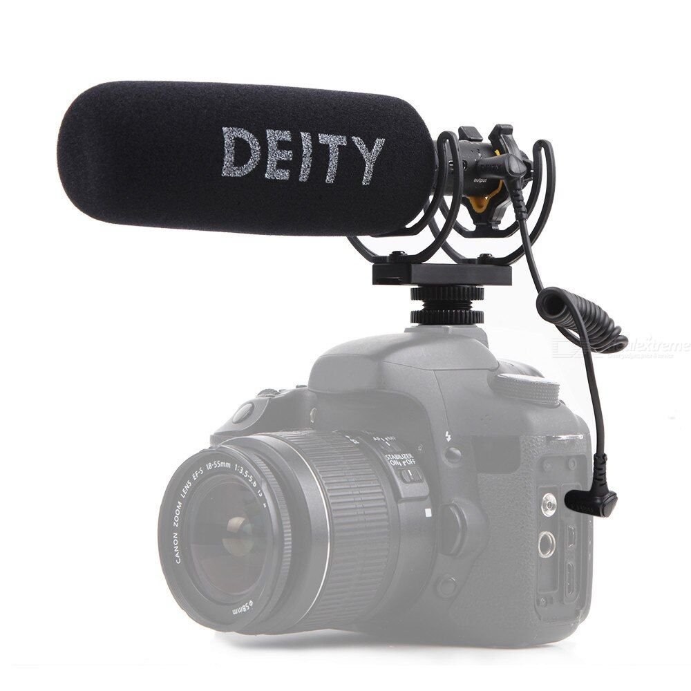 Aputure Deity V-Mic D3 Pro Super-cardioid Polar Pattern Low Noise Circuitry Design with Noise Level 15dBA High-Quality SNR