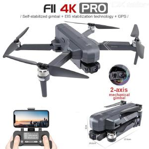 F11 4K PRO Drone Professional GPS 4K HD Camera Gimbal Brushless 5G Wifi RC Quadcopter Supports TF Card with 2 Batteries