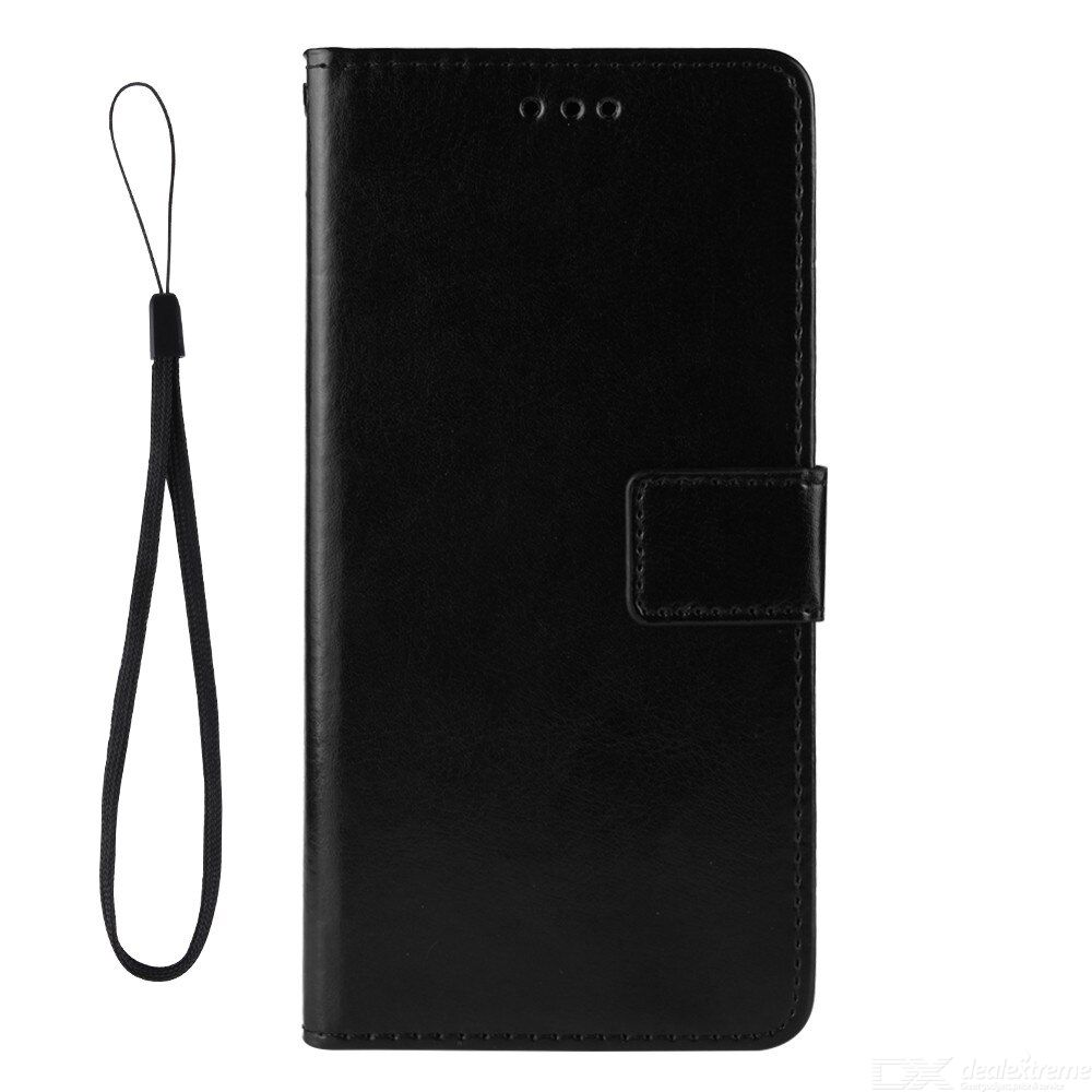 ASLING PU Leather Cover with Holder Wallet Card Storage Phone Case for Xiaomi Redmi 9T