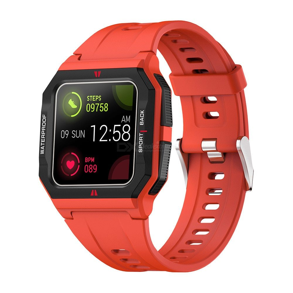 COLMI P10 Smartwatch Waterproof Full Touch Magnetic Charging 1.3 Inches LED Display Bluetooth 5.0