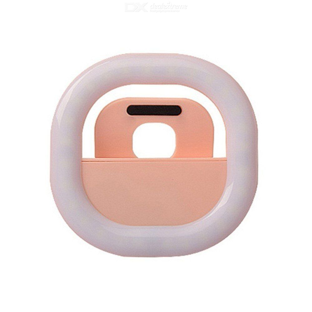 Selfie LED Light Ring Flash Fill Clip Camera Phone Laptop Tablet Computer Suitable For All Mobile Phones