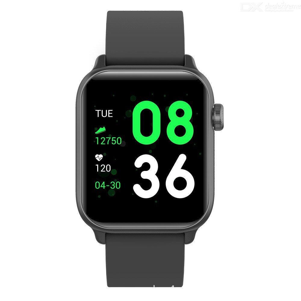 LOKMAT KW37 Smartwatch Waterproof Bluetooth 4.0 1.3-inch OGS Capacitive Touch Screen